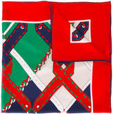 Gucci argyle chain print scarf