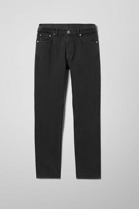 Weekday Alley Slim Jeans - Black