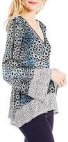 Jessica Simpson Printed V-Neck Top