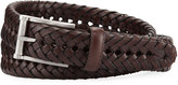 Neiman Marcus Braided Leather Belt
