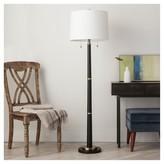 Threshold Franklin Floor Lamp - Ebony (Includes CFL Bulb