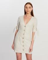 Shona Joy Fitted Mini Dress