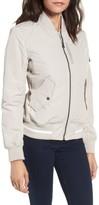 Andrew Marc Women's Foster Nylon Twill Bomber Jacket