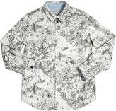 Paul Smith City Printed Oxford Cotton Shirt