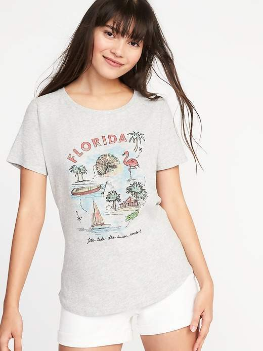 "Old Navy ""Florida"" Graphic Tee for Women"