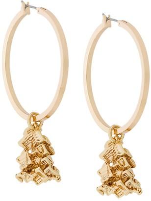 Coup De Coeur Vortex hoop earrings