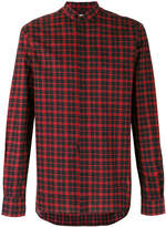 Saint Laurent checked button-up shirt