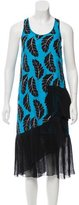 Thakoon Silk Floral Print Dress