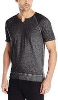 John Varvatos Men's Short-Sleeve Raglan Crew-Neck Shirt
