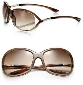 Tom Ford Jennifer 61MM Round Sunglasses