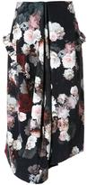 Preen by Thornton Bregazzi flower print skirt - women - Cotton - S