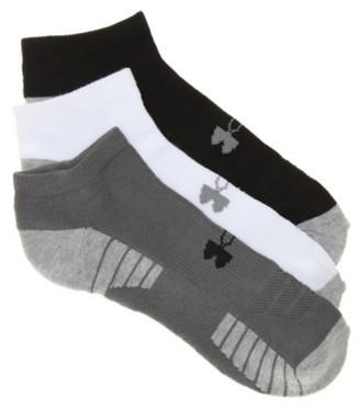 Under Armour HeatGear Tech Men's No Show Socks - 3 Pack