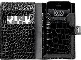 JCPenney ORDNING&REDA® Jesper Croco-Embossed Leather Phone Wallet
