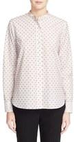 Helmut Lang Women's Fil Coupe Cotton Blouse