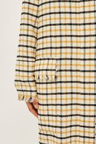 Boutique Gingham duster coat