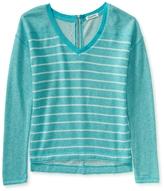 Aeropostale Long Sleeve Striped Sweatshirt