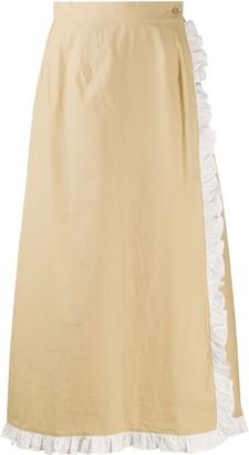 Marysia Swim Ruffle-Trimmed Wrap Skirt