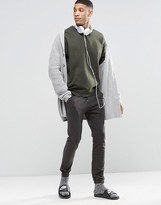 Asos Loungewear Washed Black Super Skinny Joggers