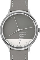 Mondaine Mh1.l2280.lh helvetica no1 light graphic edition stainless steel watch