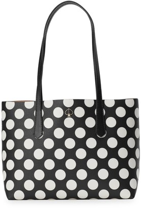 Kate Spade Small Molly Bikini Dot PVC Tote