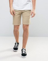 Element Howland Straight Chino Shorts In Beige