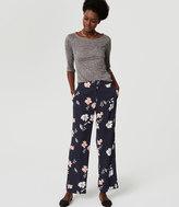 LOFT Full Bloom Trousers