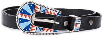 Alanui Printed-Buckle Belt