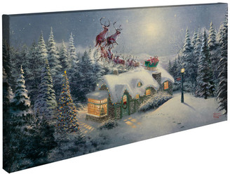 "Thomas Laboratories Kinkade Dash Away All Gallery Wrapped Canvas, 16""x31"""