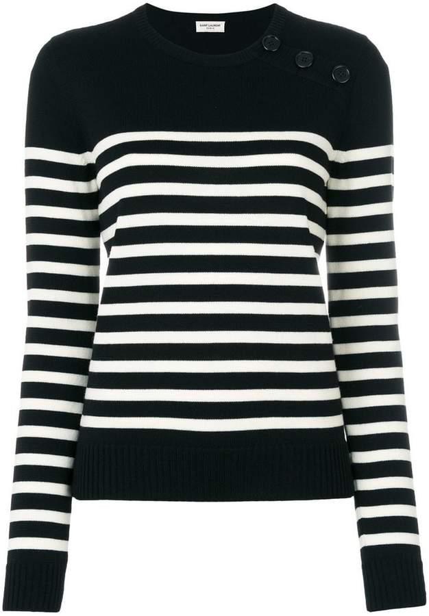 Saint Laurent striped top
