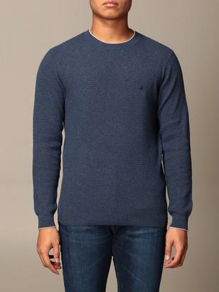 Brooksfield Brooksfiel Basic Crewneck Sweater With Logo