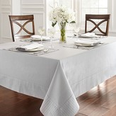 "Waterford Rigato Tablecloth, 70"" x 104"""