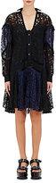 Sacai Women's Guipure Lace Dress-BLACK