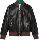 Gucci Children's leather jacket, 8-12 years