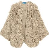 MiH Jeans Jesper Oversized Bouclé-knit Cardigan - Mushroom