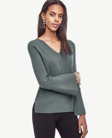 Ann Taylor Bell Sleeve Sweater