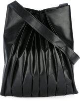 Yohji Yamamoto pleated shoulder bag