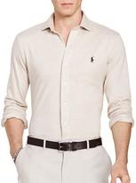 Polo Ralph Lauren Herringbone Knit Classic Fit Button Down Shirt