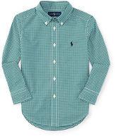 Ralph Lauren Boys 2-7 Poplin Woven Shirt