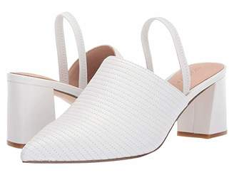 Rachel Zoe Liza Mule (White Nappa) Women's Shoes