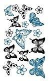 Women Sexy Water Transfer Waterproof Temporary Tattoo Sticker Body Art Butterfly