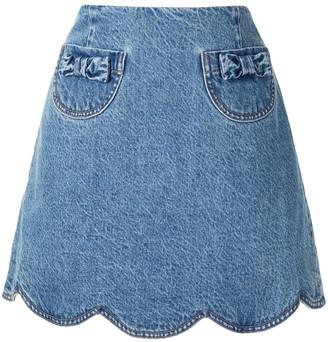 Alice McCall Desire denim skirt