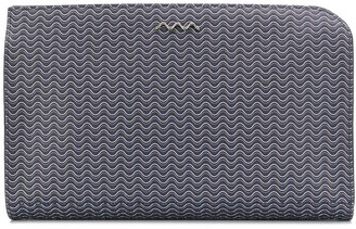 Zanellato logo embellished clutch bag