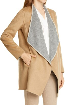 Lafayette 148 New York Valasca Reversible Wool & Cashmere Jacket