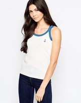 See by Chloe Anchor Tank With Contrast Trim