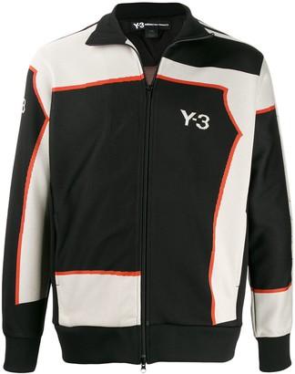Y-3 logo print track jacket
