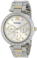 Pulsar Women's PP6109 Analog Display Japanese Quartz Gold Watch