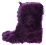 Moschino Cheap & Chic Moschino Cheap and Chic Faux Fur Ankle Boots