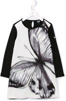 Armani Junior butterfly print dress