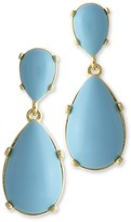 The Well Appointed House Turquoise Teardrop Pierced Earrings