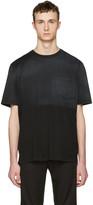Lanvin Black Ombre T-Shirt